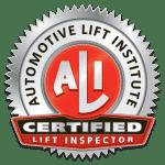 ALI Certified Lift Inspector Logo